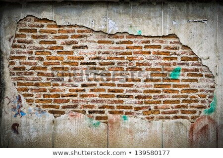 alternating adobe bricks stock photo © rhamm