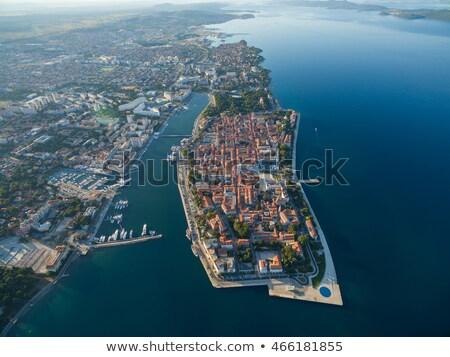 Zadar harbour  Stock photo © LianeM