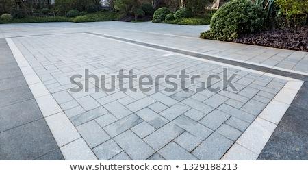 Brick pavers background texture Stock photo © njnightsky