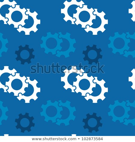 Nuts and Bolts Seamless Border Stock photo © AlphaBaby