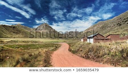 Wandelen waterval wandelen berg Stockfoto © rmbarricarte