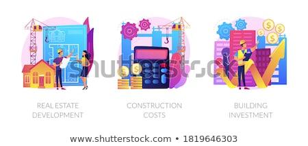 Budget Deal Violet Vector Icon Design Stock photo © rizwanali3d