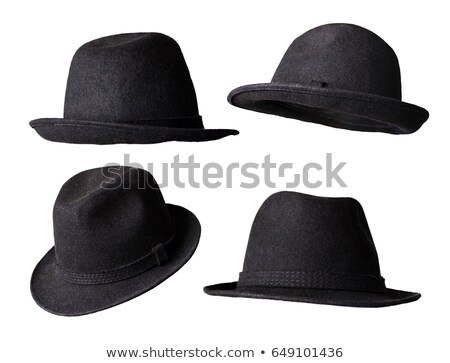 Black hat isolated on the white background Stock photo © shutswis