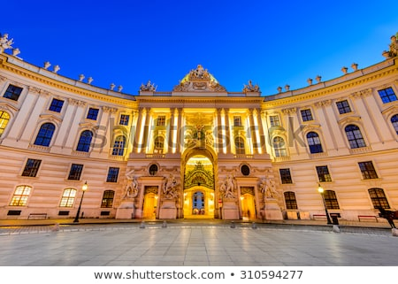gate to hofburg palace in vienna stock photo © benkrut