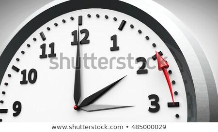 oszczędność · czasu · ilustracja · zegar · technologii - zdjęcia stock © zerbor