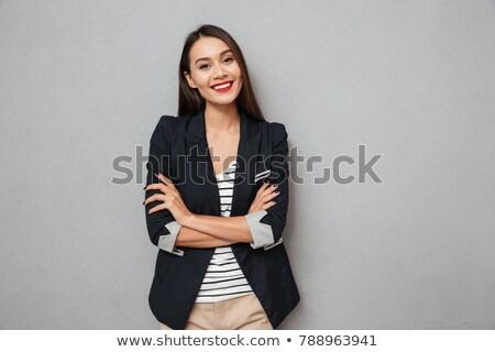 Portrait of female Asian business people Stock photo © szefei
