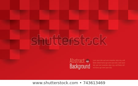 red abstract design Stock photo © ssuaphoto