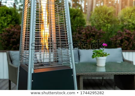 Gas patio heater Stock photo © 5xinc