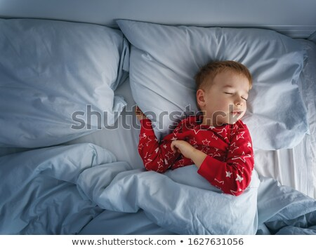 Unhappy young boys at bedtime Stock photo © IS2