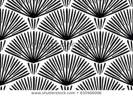 Monochromatyczny etnicznych nieskończony tekstury streszczenie Zdjęcia stock © lissantee