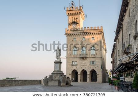 Palazzo Pubblico in San Marino Stock photo © boggy