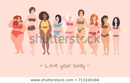 Body positive concept vector illustration Stock photo © RAStudio