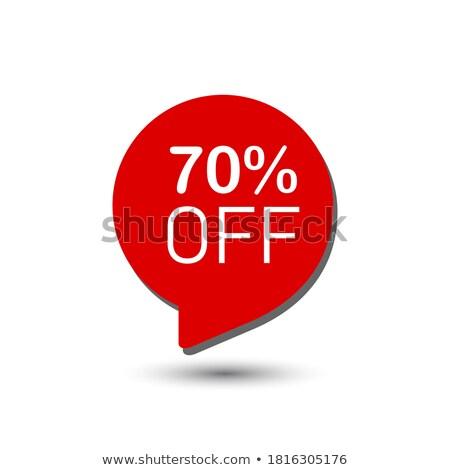 30 · yüzde · örnek · beyaz - stok fotoğraf © robuart