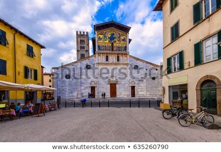 Basilica of San Frediano, Lucca, Italy Stock photo © borisb17