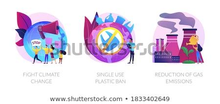 Ecology problems vector concept metaphors. Stock photo © RAStudio