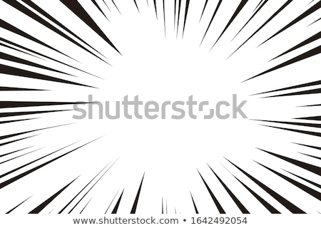 Képregény zoom fókusz vonalak üres szett Stock fotó © SArts