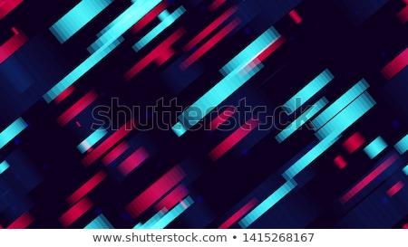 Abstrato geométrico cartaz cartão têxtil Foto stock © natali_brill