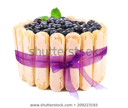 フルーツケーキ 孤立した 白 テクスチャ フルーツ ストックフォト © latent