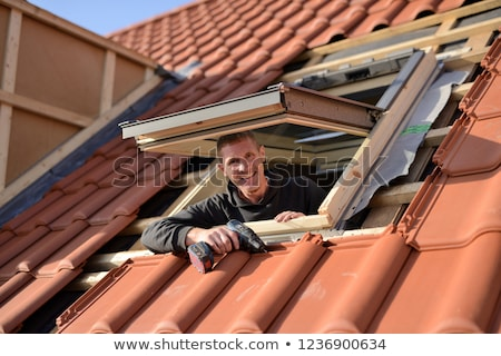 A male roofer. Stock photo © photography33