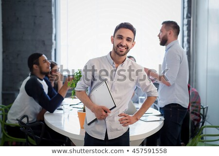 Young businessman posing with his boss Stock photo © photography33