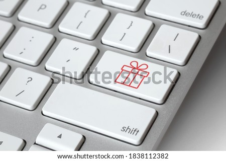 sale concept sign on computer key stock photo © fotoscool