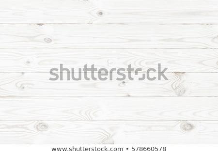 Wooden table on white Stock photo © ozaiachin