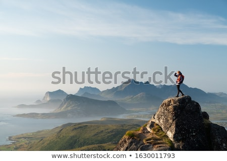 Norwegian island Stock photo © Harlekino