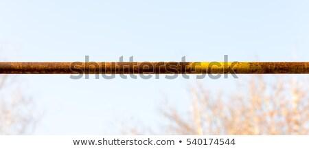 青 · 鉄 · パイプ · 壁 · テクスチャ · 抽象的な - ストックフォト © vavlt