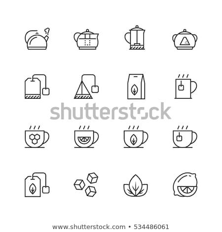 vektor · ikon · kellékek · szett · konyhai · eszköz · ikonok - stock fotó © zzve