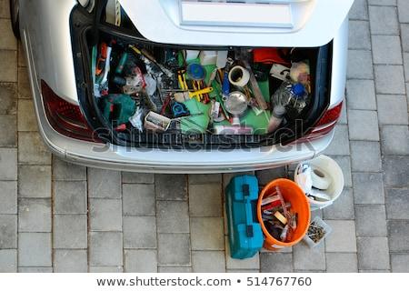 junk in the trunk Stock photo © ArenaCreative