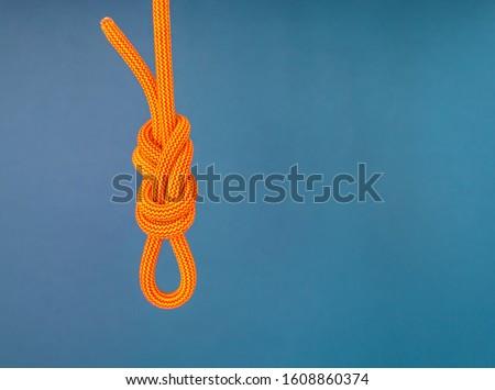 оранжевый веревку катиться нейлон Сток-фото © Stocksnapper
