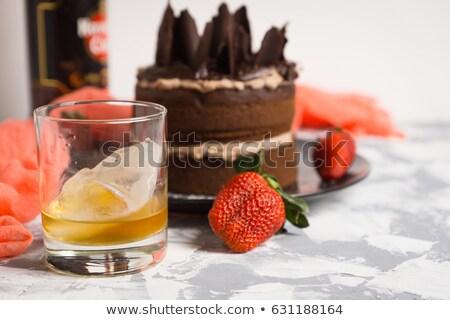 Whisky cake Stock photo © sumners
