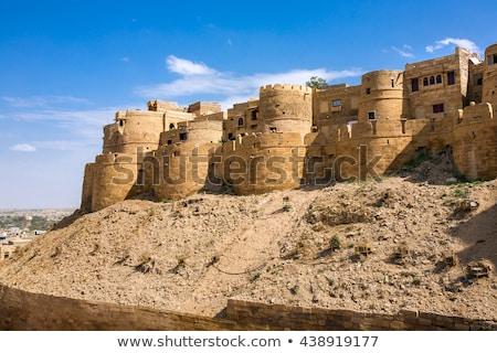 美しい パノラマ 砦 インド 建物 ストックフォト © meinzahn