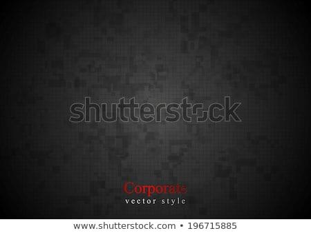 Escuro geométrico projeto vetor abstrato fundo Foto stock © saicle