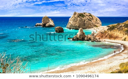 Petra tou Romiou, Aphrodite's birthplace. Paphos, Cyprus Stock photo © Kirill_M