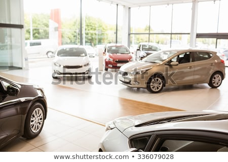 cars in a showroom Stock photo © uatp1