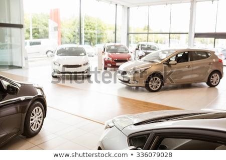 cars in a showroom stock photo © uatp1