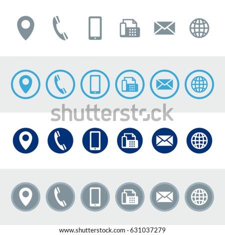 情報をもっと見る 青 ベクトル アイコン ボタン ウェブ ストックフォト © rizwanali3d