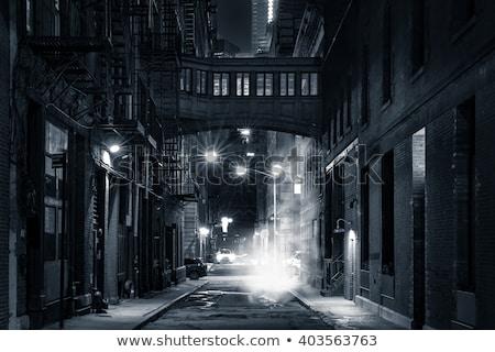 NYC street steaming Stock photo © rmbarricarte