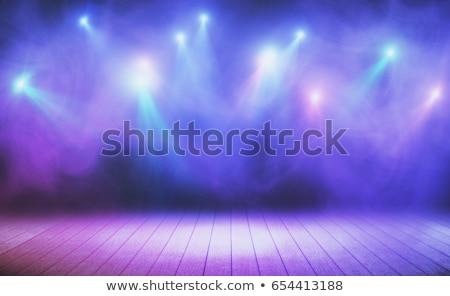 концерта этап Spotlight вечеринка музыку ночном клубе Сток-фото © alexaldo