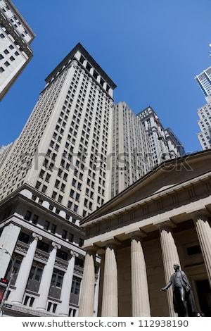 зданий · вокруг · Wall · Street · власти · Windows · Manhattan - Сток-фото © rmbarricarte