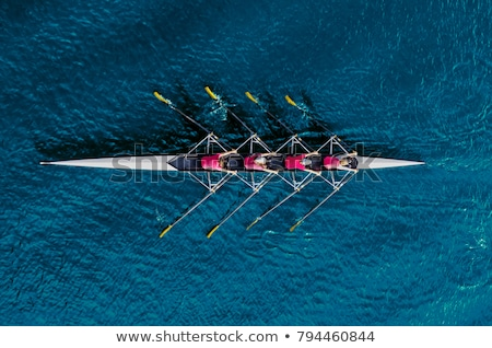 rowing boat stock photo © conceptcafe