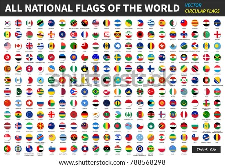 set of flags Stock photo © get4net