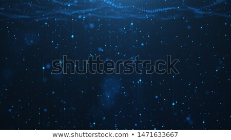 Azul tecnología ondulado partículas diseno Foto stock © SArts