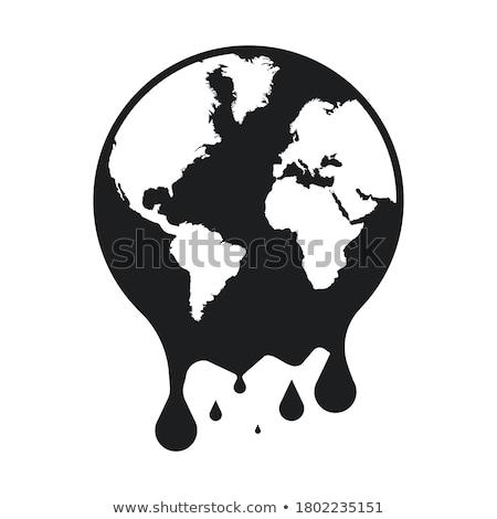 Melting Earth Stock photo © blamb