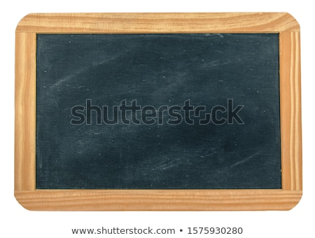 Slate with chalk Stock photo © wavebreak_media