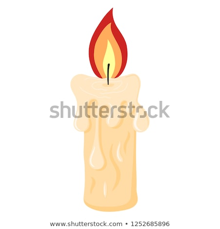 Cartoon Candle Sign Stock photo © cthoman