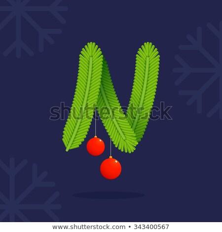 árvore de natal modelo alegre natal feliz ano novo Foto stock © ikopylov