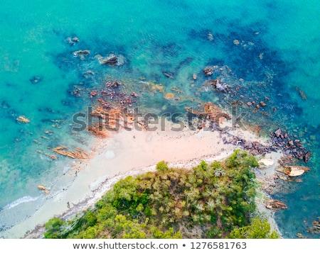Coastal shoreline aerial views Batemans Bay Stock photo © lovleah