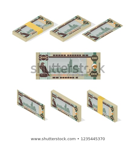 UAE Currency Dirham Banknotes Stock photo © Akhilesh